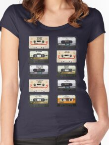 Vintage tapes Women's Fitted Scoop T-Shirt