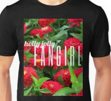 Holly Jolly Fangirl Unisex T-Shirt