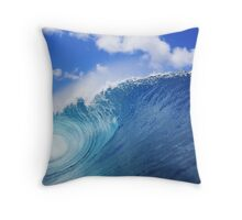 World Famous North Shore Pipeline Throw Pillow