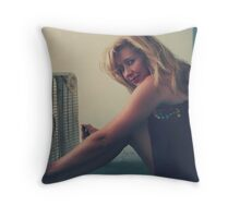 When There Were Heatwaves Throw Pillow