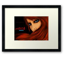 Warrior Alice Framed Print