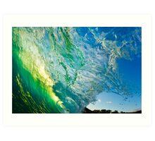 Amazing Wave Splash at Makena Art Print