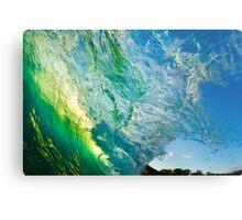 Amazing Wave Splash at Makena Metal Print