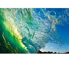 Amazing Wave Splash at Makena Photographic Print