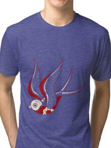 Bone Kandi Swallow Tri-blend T-Shirt