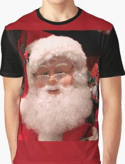Santa ~ Talk to the Man in Red Graphic T-Shirt