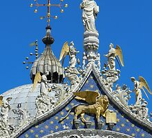 St. Mark on the Cathedral by hans p olsen