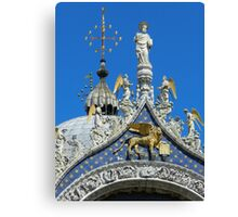 St. Mark on the Cathedral Canvas Print