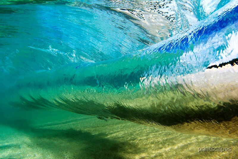 Quot Glassy Hawaiian Wave Tube Quot Canvas Prints By Printscapes