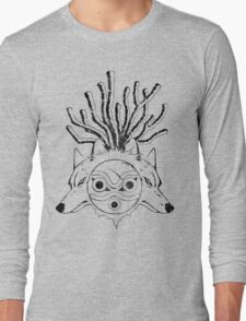Wolf Princess (Black) Long Sleeve T-Shirt