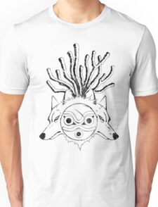 Wolf Princess (Black) Unisex T-Shirt