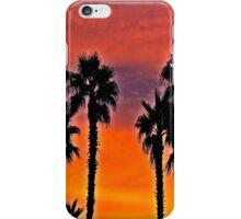 Palms At Sunset iPhone Case/Skin