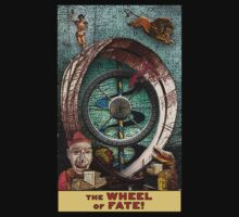 The Wheel of Fate: Circus Tarot by Duck Soup Productions by DuckSoupDotMe