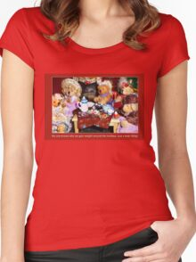 Tea at Tabitha's Women's Fitted Scoop T-Shirt
