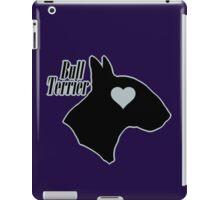 Bull Terrier <3, outlined! iPad Case/Skin