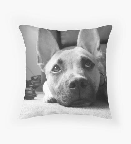 a dogs life Throw Pillow