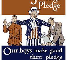 Your War Savings Pledge -- World War One by warishellstore