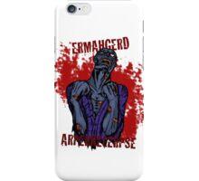 Zombie Apocalypse iPhone Case/Skin