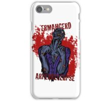 Zombie Apocalypse iPhone Case/Skin