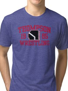 Thompson Wrestling Tri-blend T-Shirt