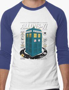 Time Traveling Lessons Men's Baseball ¾ T-Shirt