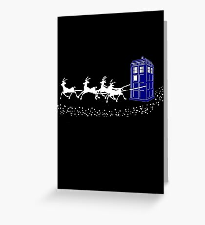The Doctor's Christmas Greeting Card