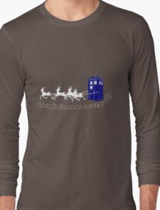 The Doctor's Christmas Long Sleeve T-Shirt