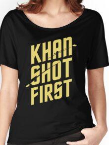 Khan Shot First Women's Relaxed Fit T-Shirt
