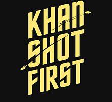 Khan Shot First Unisex T-Shirt