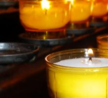 Church Candles Sticker