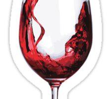 A good glass of wine Sticker