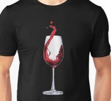 A good glass of wine Unisex T-Shirt
