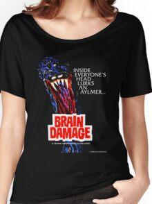 BRAIN DAMAGE Aylmer Poster Design Women's Relaxed Fit T-Shirt