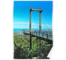The Forest Sky Pier Poster