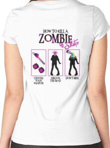 Zombie CUTE killer! Women's Fitted Scoop T-Shirt