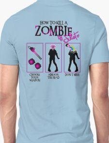 Zombie CUTE killer! Unisex T-Shirt