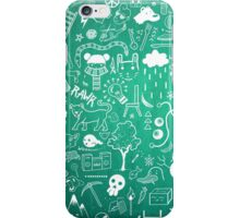 Winter Madness Blue iPhone Case/Skin
