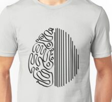 brain - left and right Unisex T-Shirt