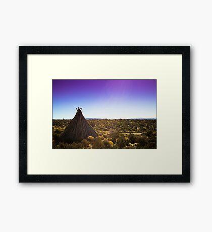 Grand Canyon Territory Framed Print
