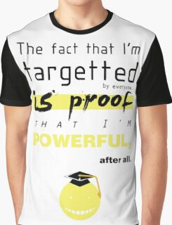 korosensei quotes  Graphic T-Shirt