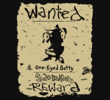 Wanted - One-Eyed Betty Kids Clothes