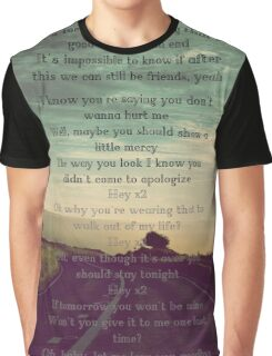"""One Direction  - """"Love You Goodbye"""" Graphic T-Shirt"""