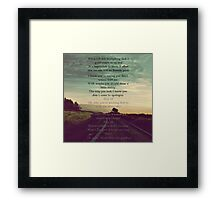 """One Direction  - """"Love You Goodbye"""" Framed Print"""