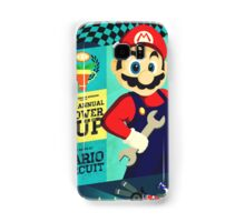 Mario Kart Race  Samsung Galaxy Case/Skin