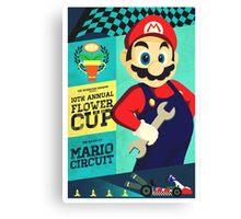 Mario Kart Race  Canvas Print