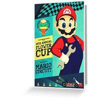 Mario Kart Race  Greeting Card