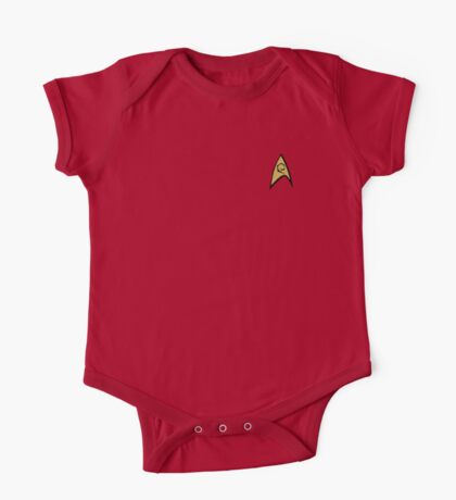 Star Trek Engineering Insignia Shirt One Piece - Short Sleeve