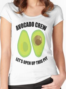 Avocado Crew Women's Fitted Scoop T-Shirt