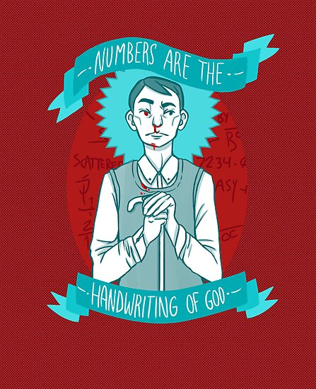 Numbers Are The Handwriting of God (Print) by Kelly Best