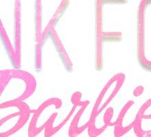 Junk Food Barbie Sticker
